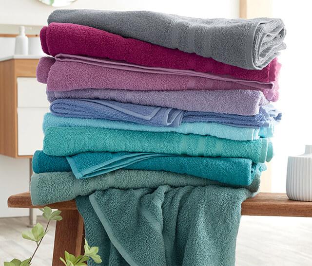 Le linge de bain émotion - Douceur des coloris