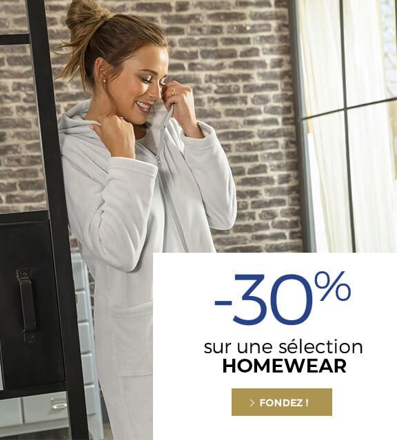 -30% sélection homewear