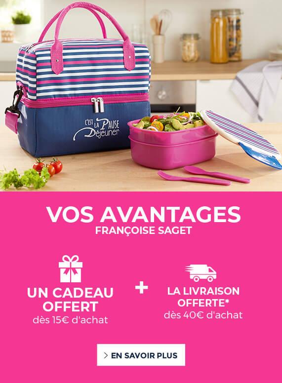 Vos avantages Françoise Saget