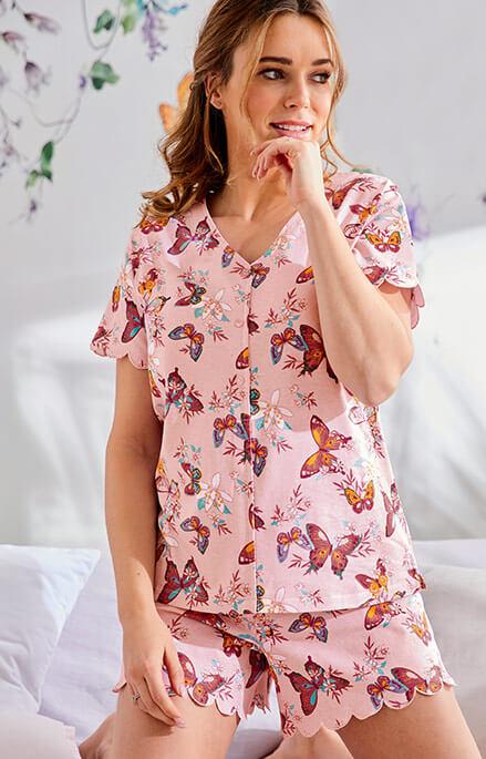 pyjashort L'odeur du jasmin