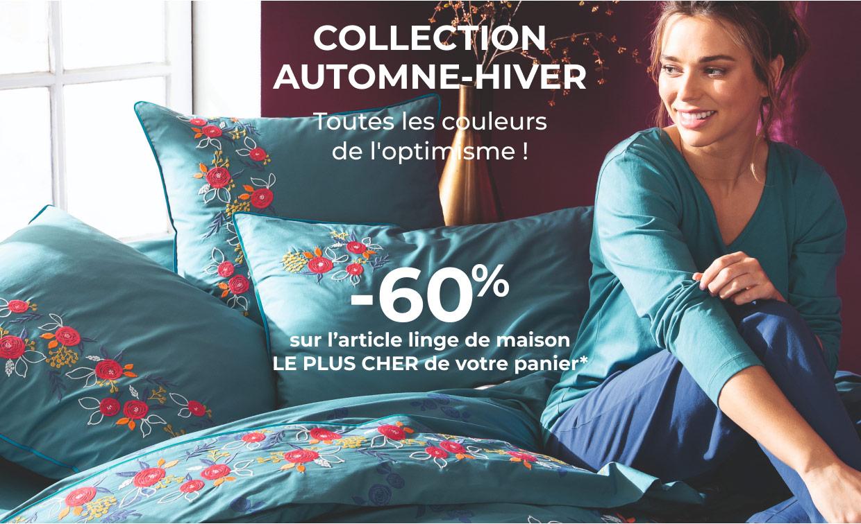 COLLECTION AUTOMNE-HIVER Toutes les couleurs de l'optimisme !