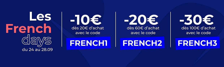 Les French days du 24 au 28.09
