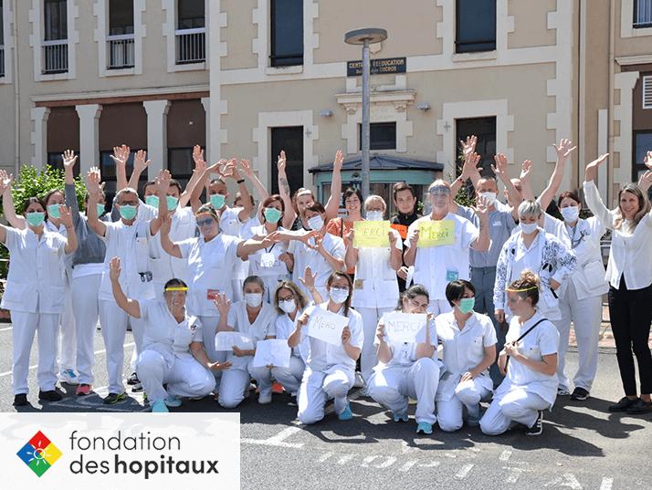 Soutien à la Fondation des hôpitaux de France