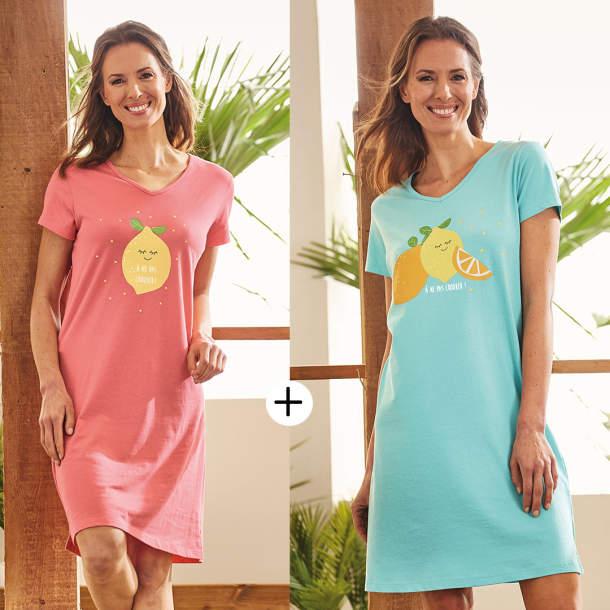 2 Maxi t-shirts - A ne pas croquer