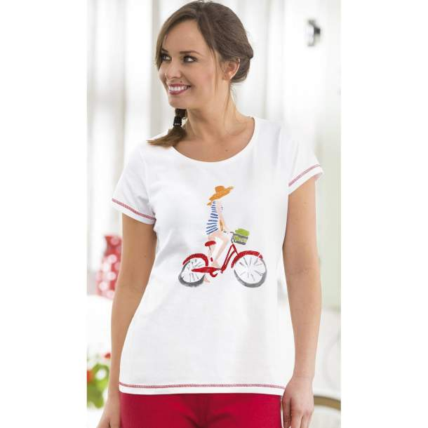 Tee-shirt - A Bicyclette