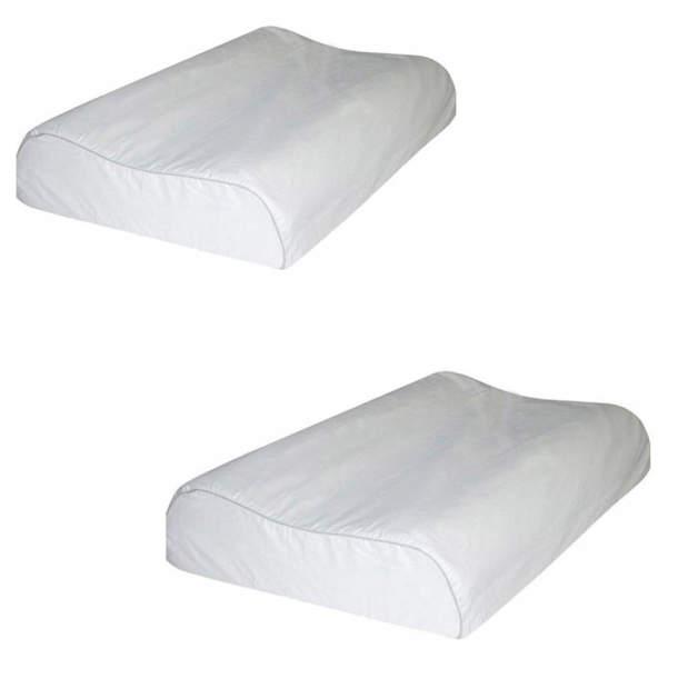 Lot d\'oreillers - Ergonomique à mémoire de forme