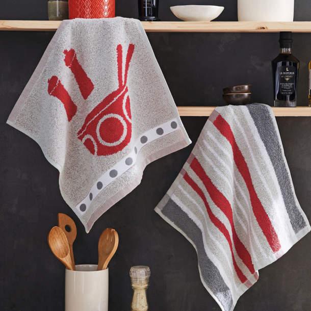 2 Essuie-mains - Atelier cuisine