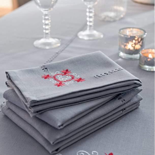 Serviette de table - Au coeur des étoiles