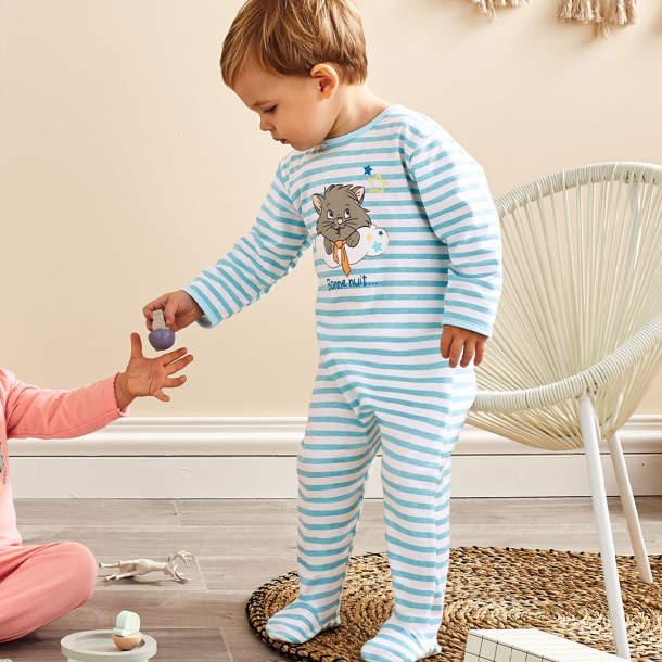 Pyjama garçon bébé - Berlioz