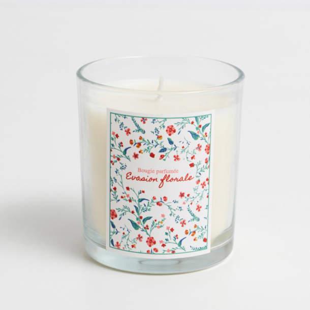 Bougie - Evasion florale