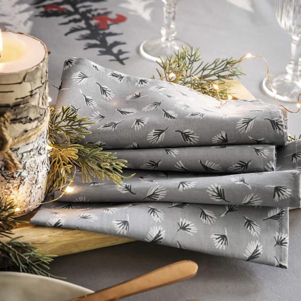 Couleurs Sud Lot de 6 serviettes de table Champetre Sidonie