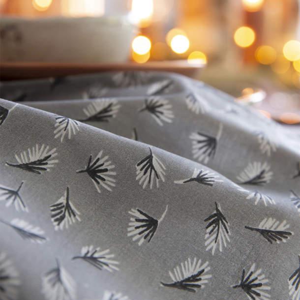 Serviette de table - Boule de neige et chocolat chaud