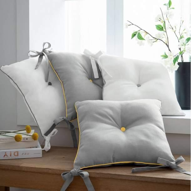 2 Coussins de chaise - Bouquet de Soleil