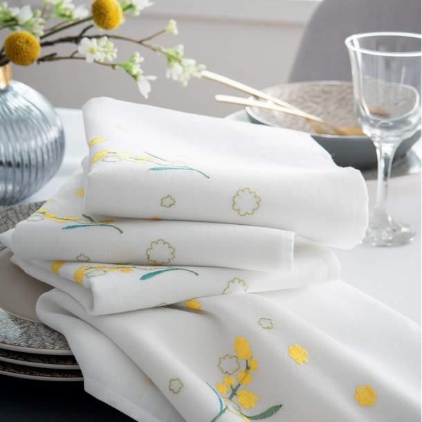 Serviette de table - Bouquet de Soleil