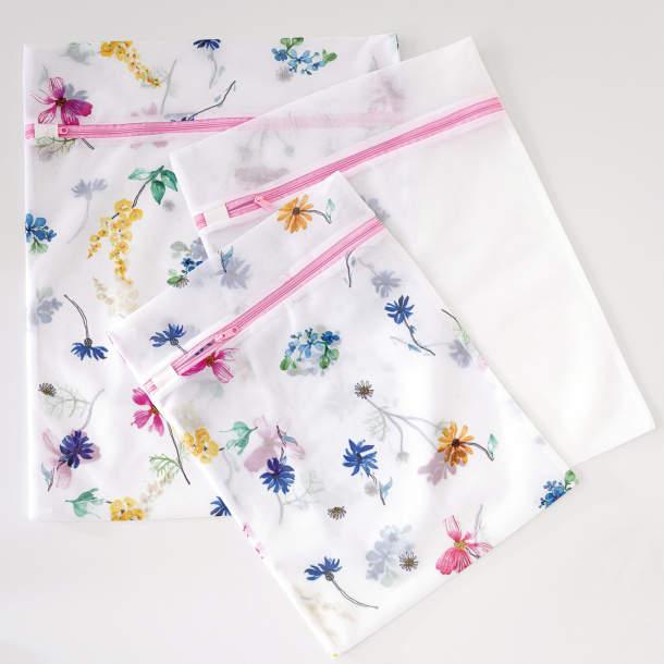 Filets de lavage - Bouquet fleuri