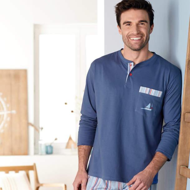 Pyjama homme - Cap à l\'ouest