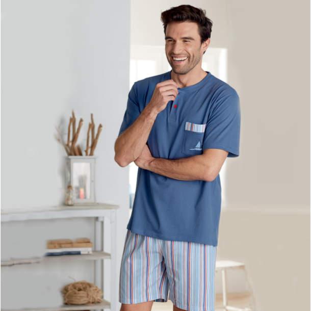 Pyjama court homme - Cap à l\'ouest