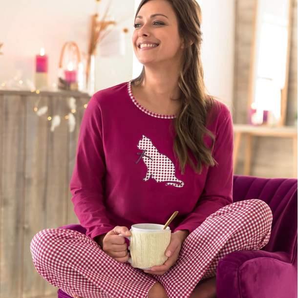 Pyjama - Chat Passion