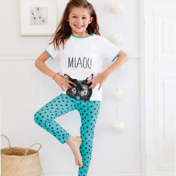 Pyjama long enfant - Chatouille