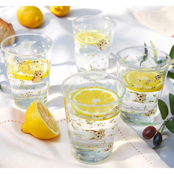 4 verres - Chouette bohème