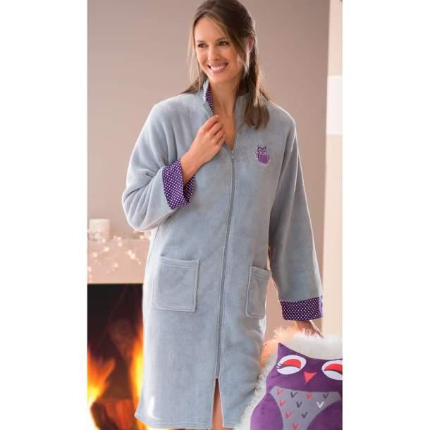 Robe de chambre - Chouette douceur