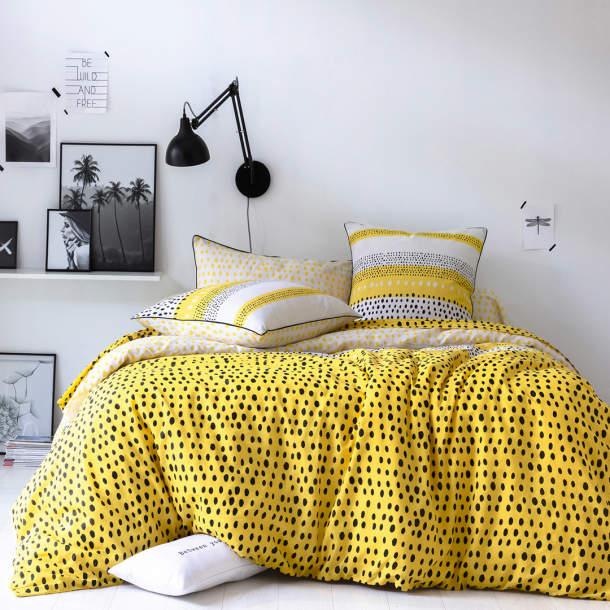 Taie d\'oreiller - Citron et réglisse