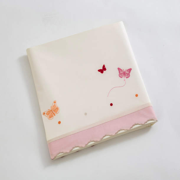 Drap - Confettis et papillons