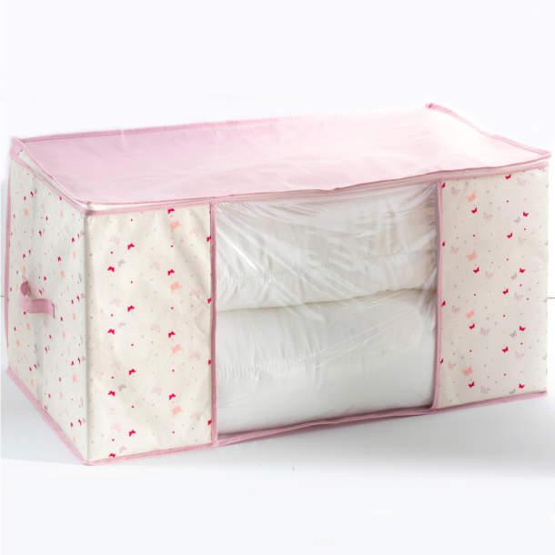 Housse de couverture - Confettis et papillons