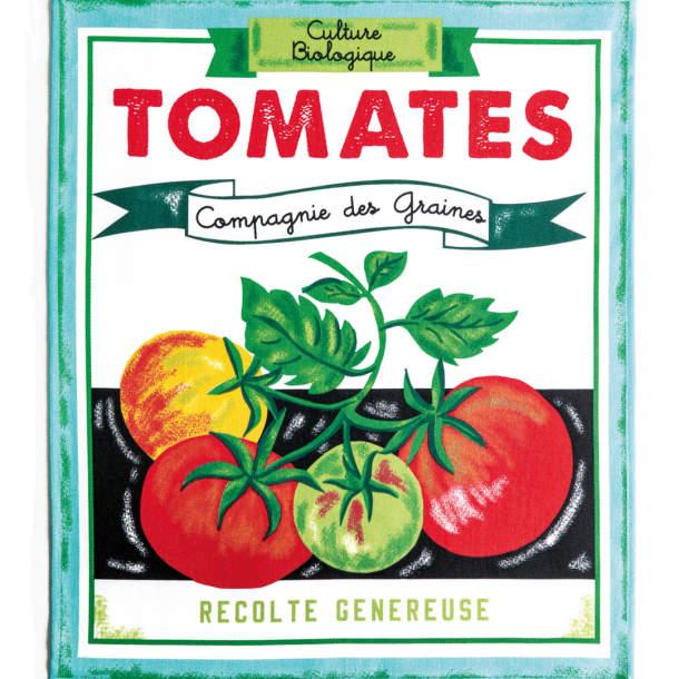 3 Torchons - Couleurs légumes