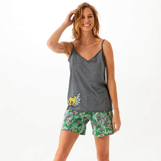 Pyjama femme - Dans la jungle