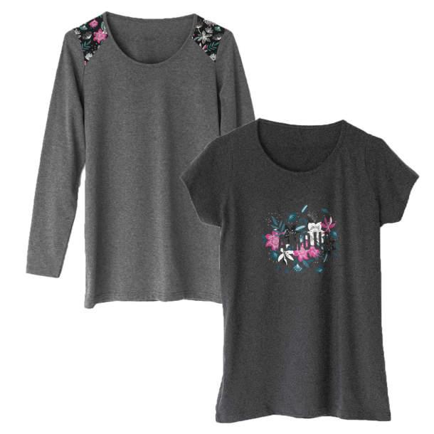 2 T-shirts - De l\'Amour