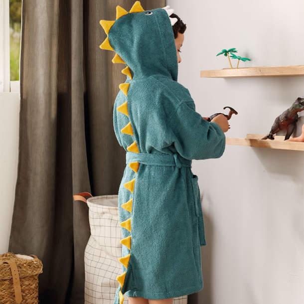 Peignoir enfant - Dino et compagnie