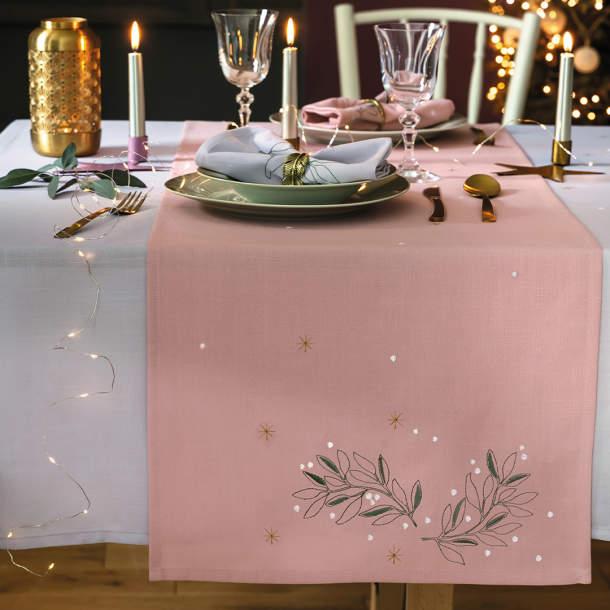 Chemin de table - Douce invitation