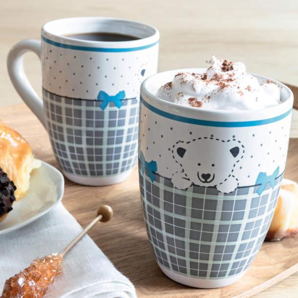 2 mugs - Douceur feutrée