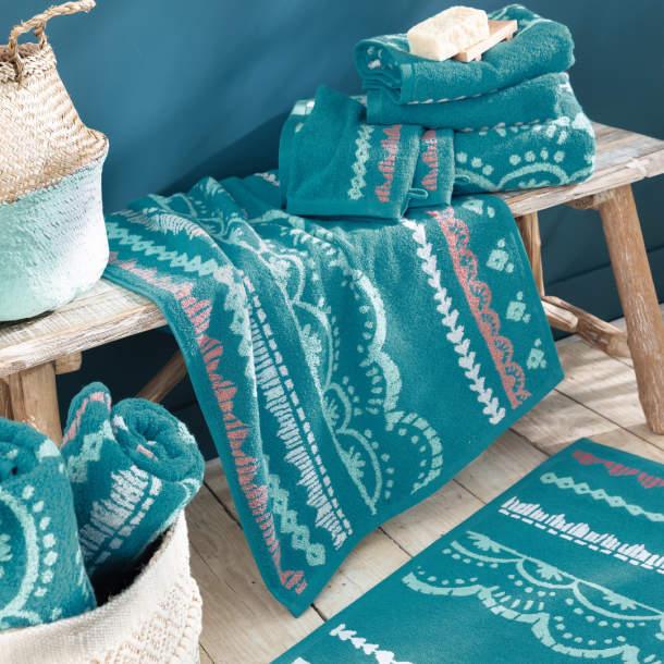 Tapis de bain - Eaux turquoises