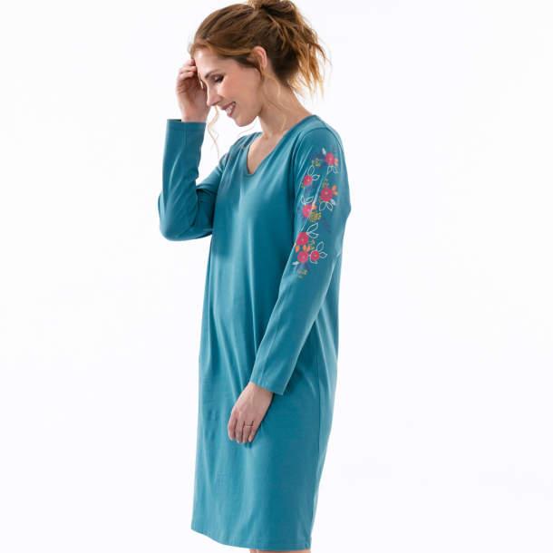 Chemise de nuit - Emoi fleuri