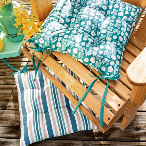 Coussins de chaise - Farniente au soleil