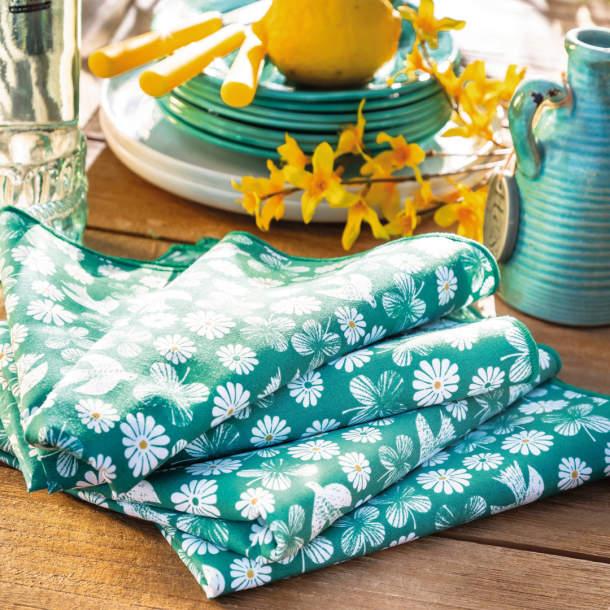 Serviette de table - Farniente au soleil