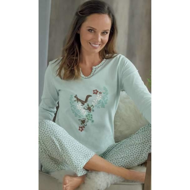 Pyjama - Feuillage et Noisette