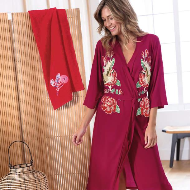 Kimono - Fleurs divines