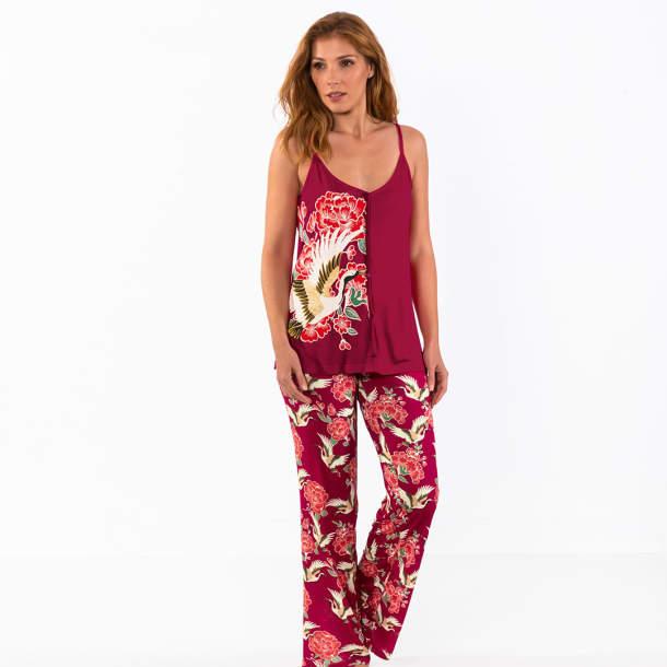 Pyjama - Fleurs divines