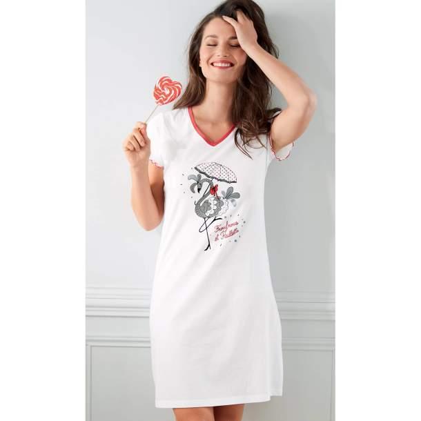 Maxi T-shirt - Froufrous et paillettes