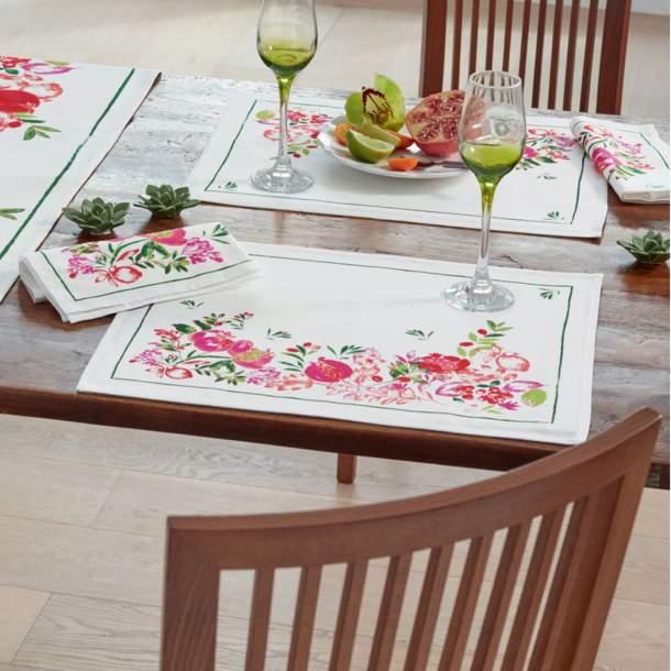 2 Sets de table - Fruits Paradis
