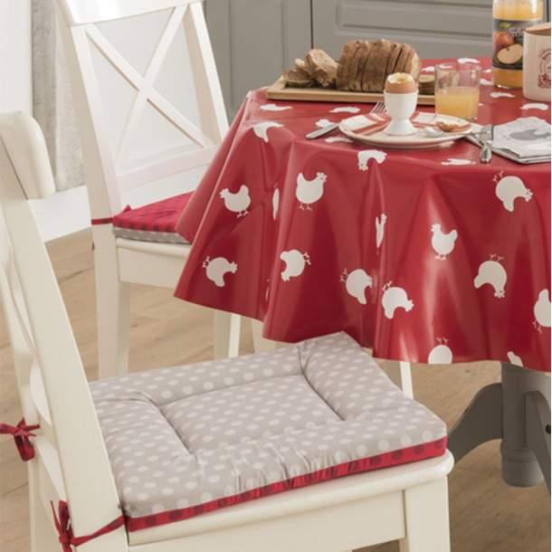 2 Galettes de chaise - Galinette