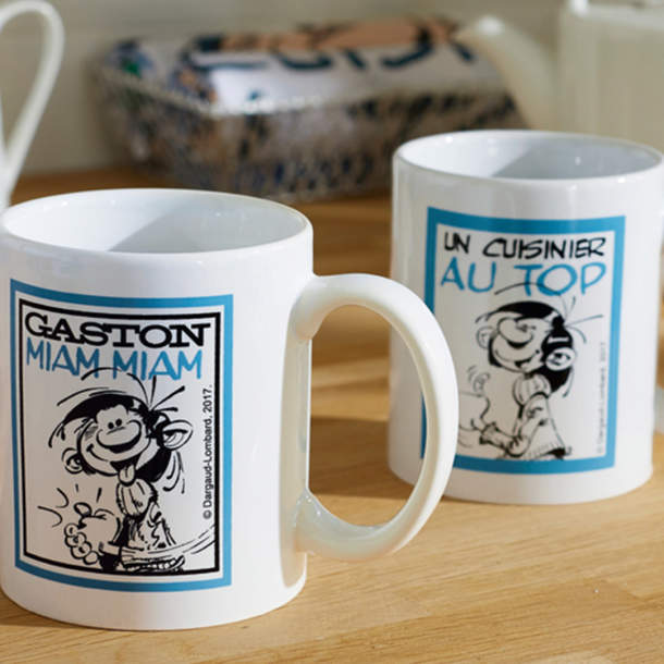 2 mugs - Gaston