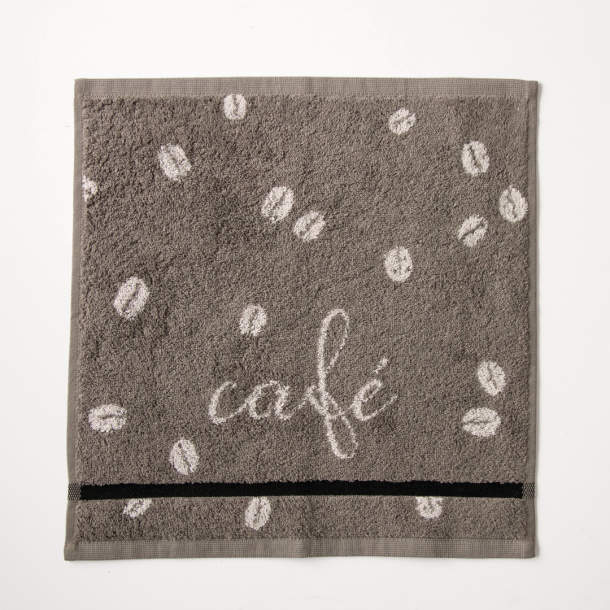 2 Essuie-mains - Grains de café