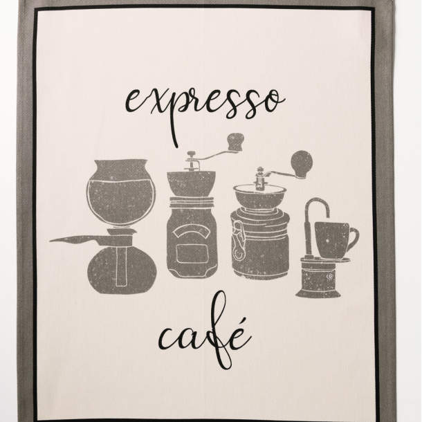 3 Torchons - Grains de café