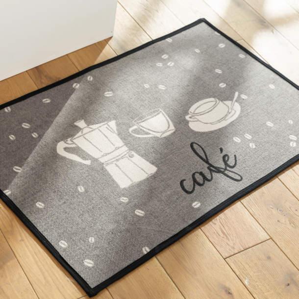 Tapis de cuisine - Grains de café