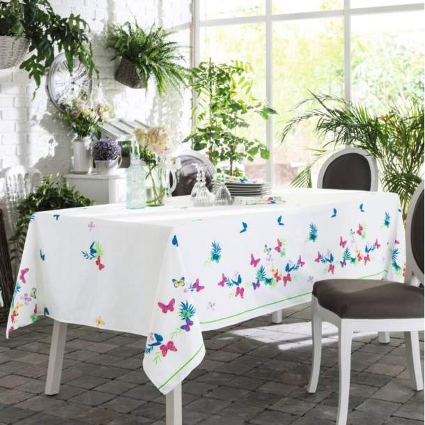 Nappe - Jolis papillons