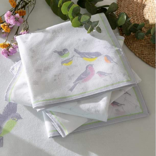 Serviette de table - Jolis ramages
